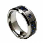Tungsten Carbide Ring With..
